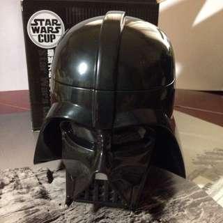 星際大戰 黑武士 頭盔立體造型水杯