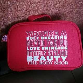 Brand New Body Shop Beauty Travel Pouch