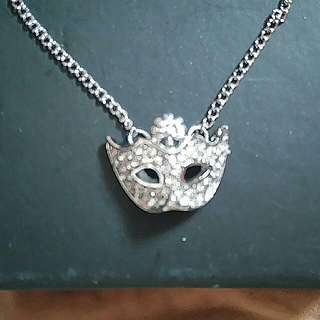 Masquerade Mask Necklace Jewellery