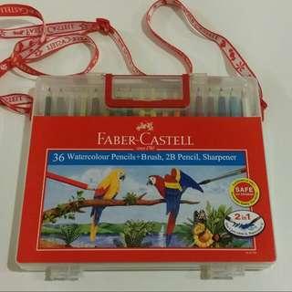 [BNIB] Faber-Castell Wonderbox Watercolour Pencil (36 Colours)