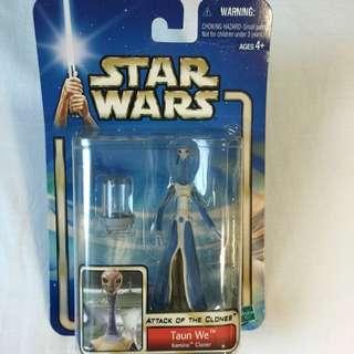 Star Wars Episode 2: Tuan We Kamino Cloner action figure