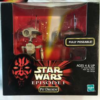 Star Wars Episode I: Pit Droids action figures