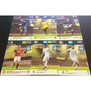 Panini FIFA 365 Adrenalyn XL Official Trading Cards