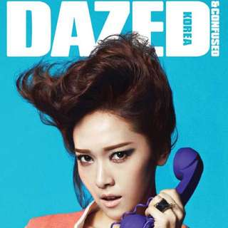 Snsd Jessica Dazed And Confused Mar 2012 Magazine