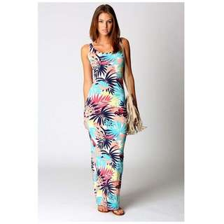 New Boohoo Maxi Dress