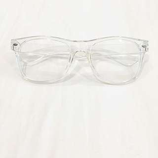 Transparent Nerdy Glasses