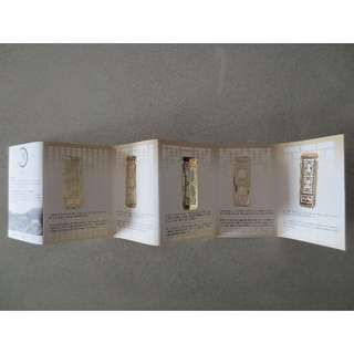 Korea's Changdeokgung Palace's metal bookmarks (new, in box)