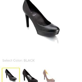Rockport Janae Pump Black With Adiprene Sole