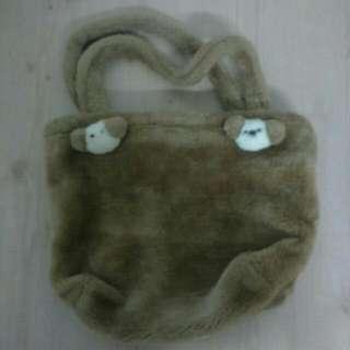 可愛毛手提袋