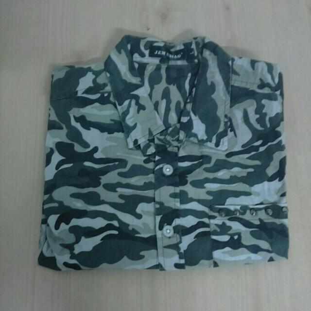 迷彩襯衫(短袖)
