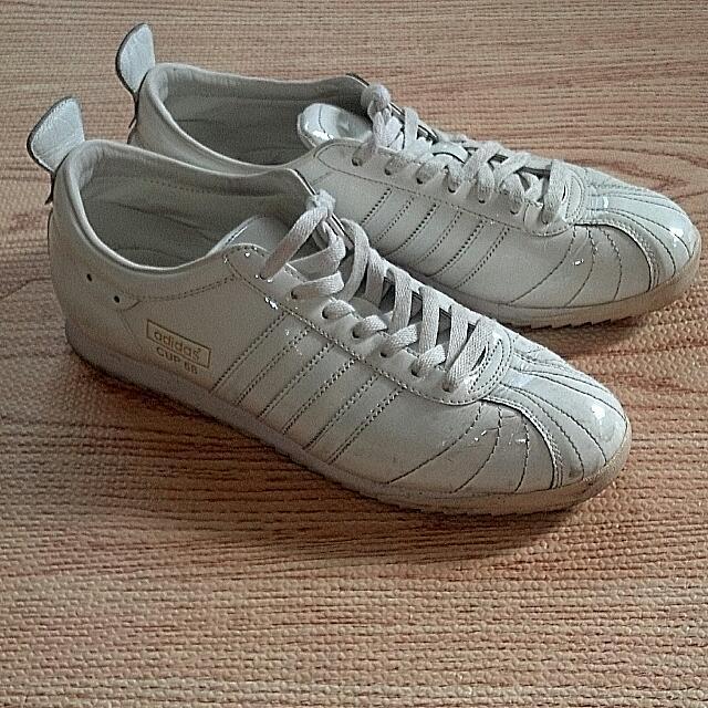 Adidas Cup 68 稀有絕版 漆 亮皮 足球鞋 世界盃 世足