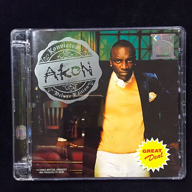 Akon - Konvicted Deluxe Editon CD + DVD Super Jewel Case, Music