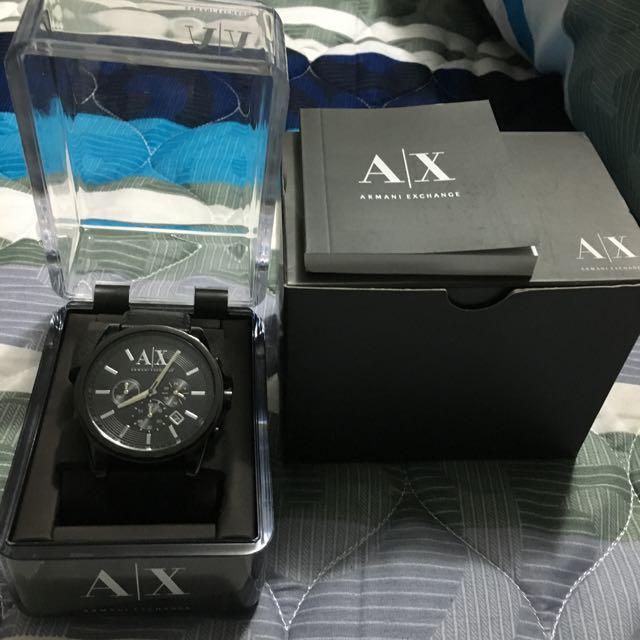 A|X ARMANI EXCHANGE手錶
