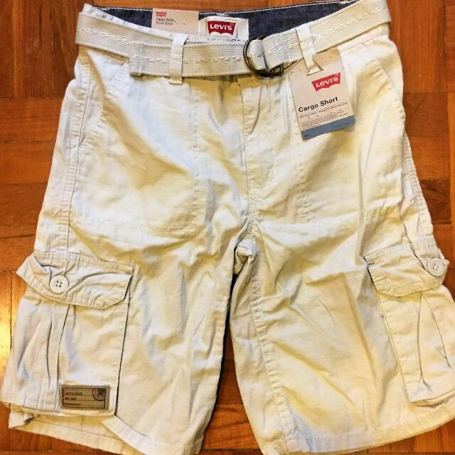 6c15b431ed Brand New With Tag Levi Cargo Shorts For Boys Size 10