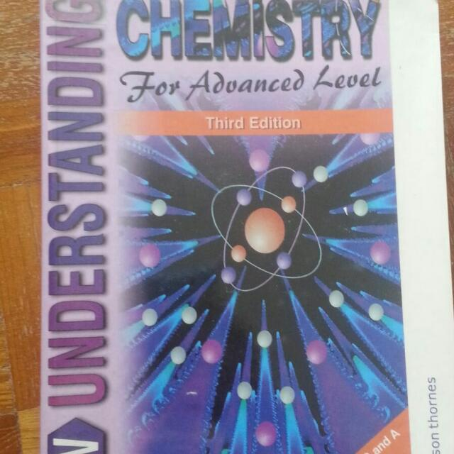 Chemistry Textbook - Understanding Chemistry For Advanced
