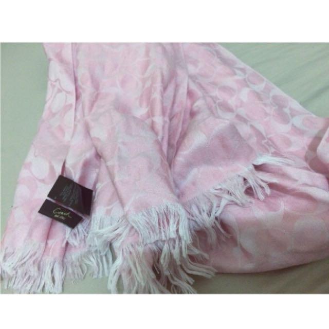 Coach 圍巾