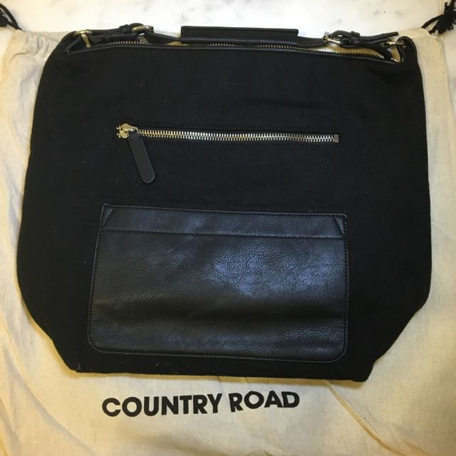 COUNTRY ROAD - Two Toned Handbag - Used Once