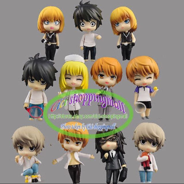 Death Note Mini Figures