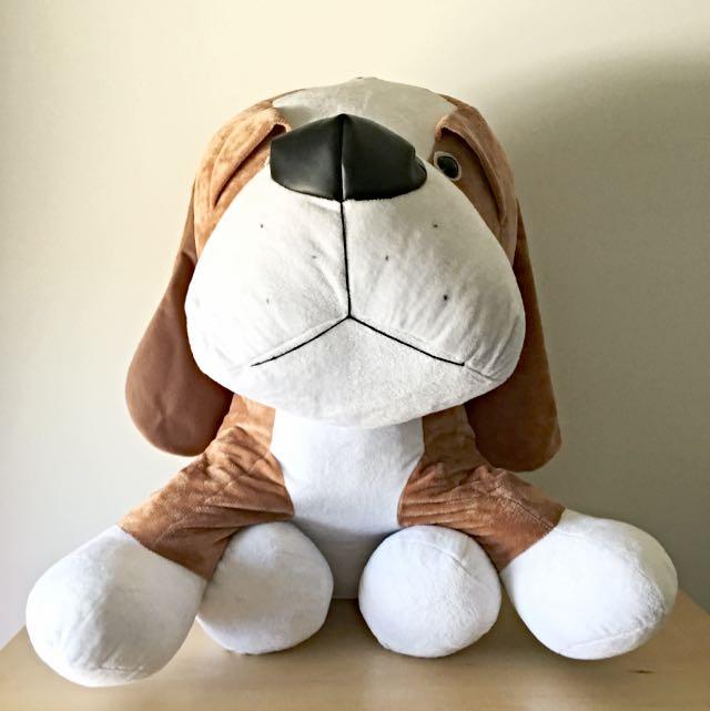 Large Puppy Dog Soft Toy Plush