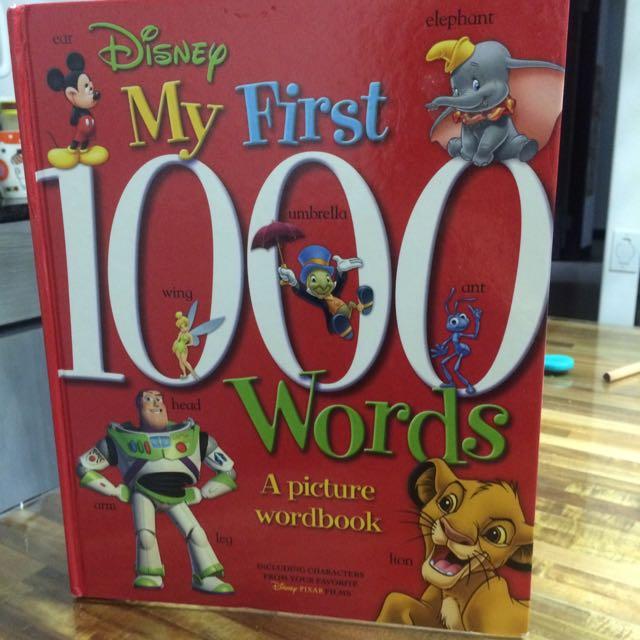 全新迪士尼my first 1000words