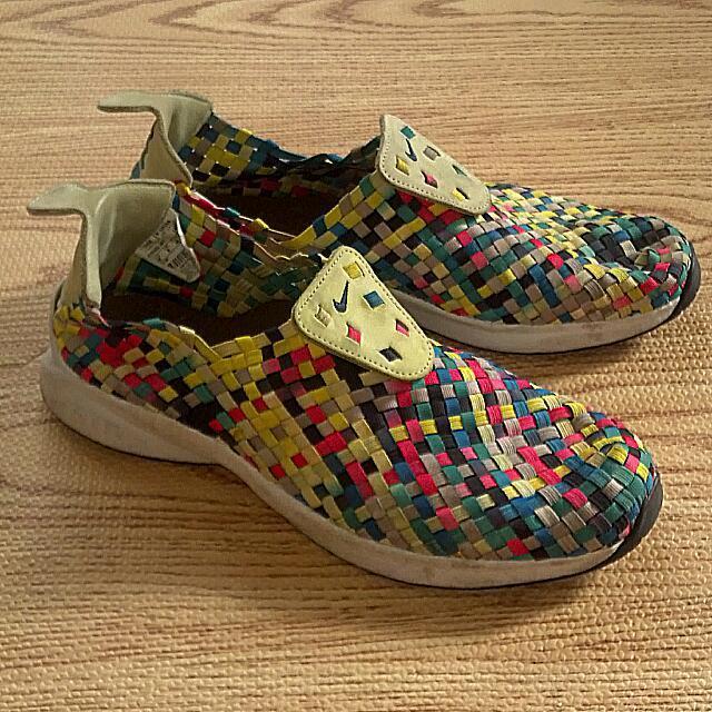 Nike Woven 彩虹 限量 編織鞋 藤原浩 Htm 保證真品