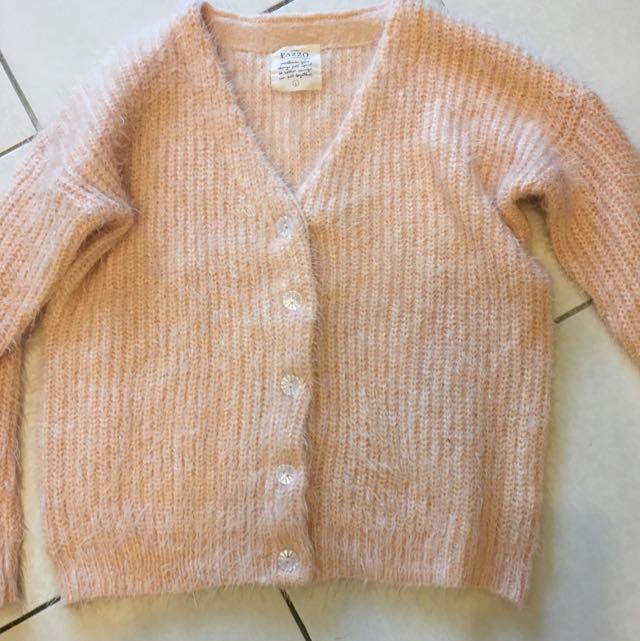 Pazzo 粉橘色毛衣