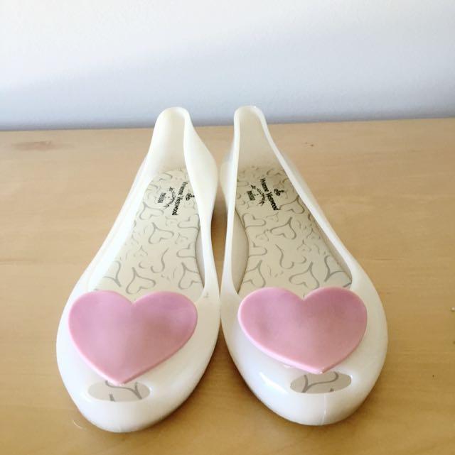 Preloved Women's Size 7 Vivienne Westwood X Melissa Shoes