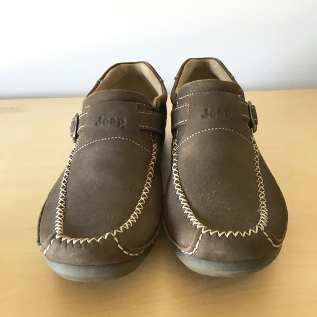 Size US9 Brown Men's Jeep Shoes