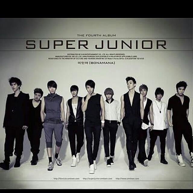 Super Junior BONAMANA 美人啊 C版專輯