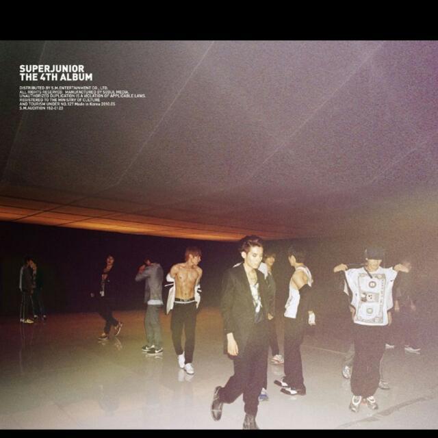 Super Junior BONAMANA美人啊 B版專輯