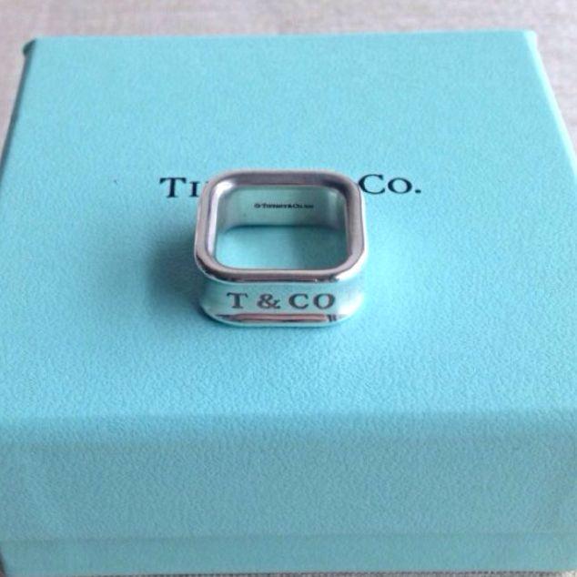 正品二手Tiffany戒指