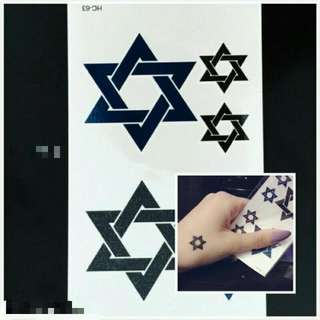 紋身貼紙2