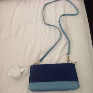Genuine Oroton blue bag