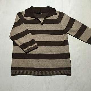 PIPPY-針織七分袖上衣