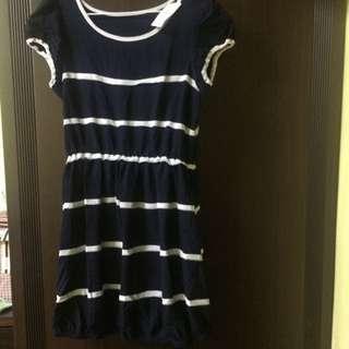藍白條紋洋裝