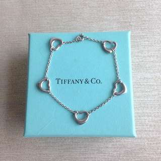 (保留中)正品二手Tiffany手鍊