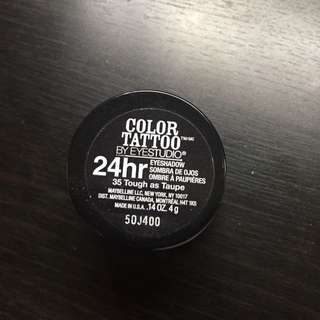 Maybelline Color Tattoo (tough as taupe 35)