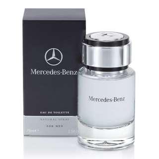 潮品 Mercedes-Benz 賓士 男性淡香水(75ml)