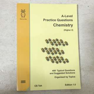 H2 A Level Practice Questions By CS Toh