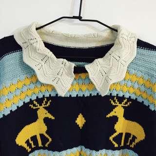 《復古感毛衣》