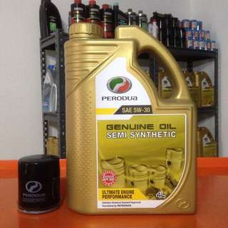 Perodua Engine Oil Gold