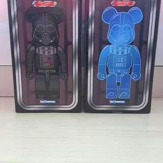 Bearbrick 400% Darth Vader