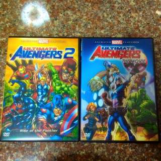 Ultimate avengers The Movie 1 & 2 Animation