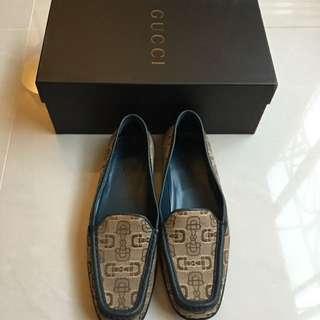 Gucci休閒鞋(深藍底色)保留中