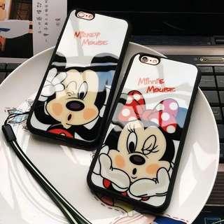 米奇米妮🎀裝可愛iphone手機殼