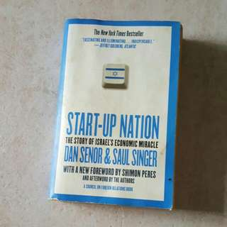Startup Nation The Story Of  Israel's economic Miracle