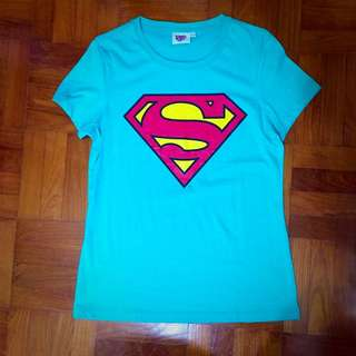 Supergirl printed tees (2 colours available)