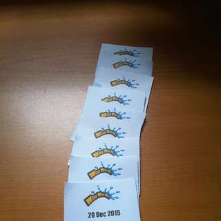 9 Wild Wild Wet Tickets For $80 All Pending