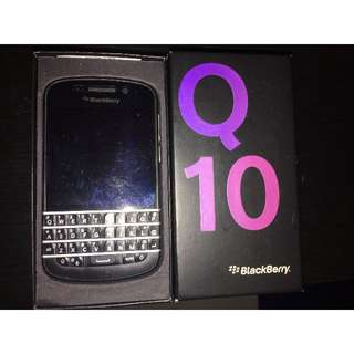 Blackberry Q10 Black Colour