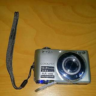 Nikon Digital Camera - Coolpix L22 📷 - Functional